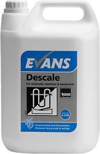 EVANS - DESCALE - ACID BASED PROFESSIONAL DESCALER - 2 X 5 LTRS