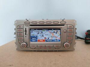 FORD LS RNS SAT NAV CAR RADIO CD PLAYER MK4 MONDEO FOCUS CONNECT S MAX GALAXY