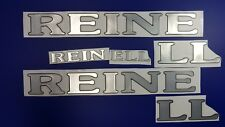 """REINELL Boats Emblem 30"""" black chrome + FREE FAST delivery DHL express"""