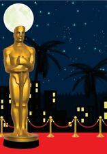 5x7ft Hollywood Oscar-star Red Carpet Event Gold award Background party Backdrop