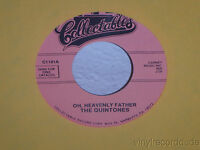 """THE QUINTONES Oh, Heavenly Father/I Watch The Stars 7"""" 45 Collectables C1101 VG+"""