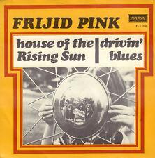 "FRIJID PINK – House Of The Rising Sun (1970 VINYL SINGLE 7"" HOLLAND)"