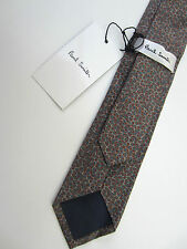paul smith krawatte sehr selten muster 6cm 100% baumwolle made in italy