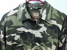 10W Apparel Schmidt Work Wear L/S Woodland Camouflage Shirt Men's Medium NWOT