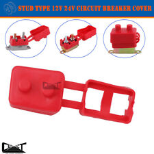 1x Circuit Breaker Cover Protective 12V 24V Stud Type Insulated PVC Protector