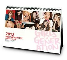 GIRLS' GENERATION SNSD 2012 SM OFFICIAL DESK CALENDAR NEW