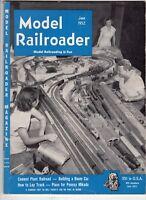 Model Railroader Train magazine June 1952 Cement Plant Railroad Pennsy Mikado