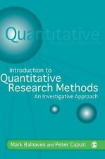 Introduction to Quantitative Research Methods : An Investigative Approach by...