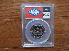2003-S Flag Clad Arkansas AR State Quarter PR70DCAM PCGS Proof 70 Deep Cameo