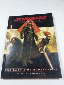 The Dark Side Sourcebook Star Wars Roleplaying Game RPG Book