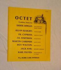 KARL FULVES OCTET Martin Gardner Walton Dingle Avis Hartman card magic rubikcube