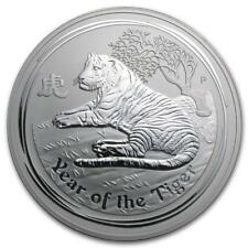 2010 Australia 1 kilo Silver Year of the Tiger BU (Series II) #P... Lot 20161273