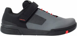Crank Brothers Stamp Speed Lace Flat Shoes | Gray/Red/Black | 10