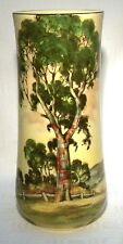 "ROYAL DOULTON 9.1/4"" VASE AUSTRALIAN GUM TREE D5506"