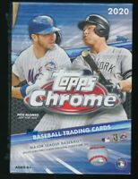 2020 Topps Chrome Baseball Factory Sealed BLASTER Box w/4 BONUS SEPIA REFRACTORS