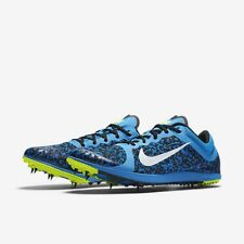 Mens Nike Zoom XC TRACK Spikes Running Shoes BLUE  BLACK 844132 407 SIZE 14