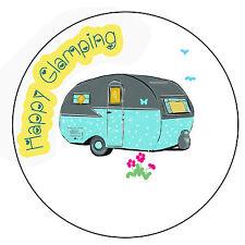 ✿ 24 Edible Rice Paper Cup Cake Toppings - Caravan camping glamping ✿