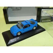 FORD RS 200 1986 Bleu Blue MINICHAMPS 1:43