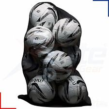 mitre 10 balle NOIR MAILLE FILET transport FOOTBALL, Netball, RUGBY BALLES sac