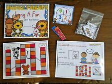 Long A Vowel Team ai Phonics Game Center Literacy Bag Teacher Resource