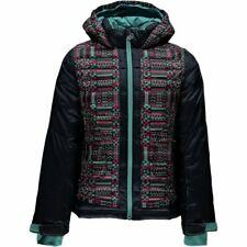 Spyder Girls Nora Hooded Down Jacket,Ski Snowboarding Jacket,Size S (8 Kids) NWT