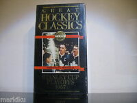 Hockey Classics Toronto vs Montreal Stanley Cup Playoffs 1967 vhs cassette tape