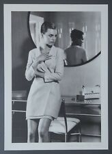 Karl Lagerfeld 1996 1997 Ltd. Ed. B&W Photo Art Print 29x40 Fashion Mode Chanel