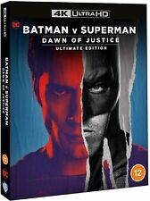 BATMAN VS. SUPERMAN 4K UHD REMASTERED ULTIMATE EDITION / INCLUDES SLIPCOVER