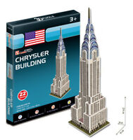 Chrysler Building 3D Puzzles Children Boy Girl Model Paper DIY Educational Toy