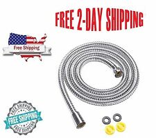 Extra Long Stainless Steel Handheld Shower Hose (5 Ft) (60 Inches)