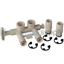 7345388 - Water Softener Bypass Kit with Adapters and Clips