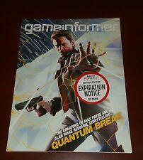 Game Informer Video Magazine Issue #272 Quantum Break December 2015