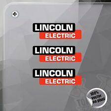 PEGATINA LINCOLN ELECTRIC DECAL STICKER AUFKLEBER AUTOCOLLANT