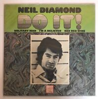 Neil Diamond - Do It - SEALED 1971 Stereo 1st Press Bang LPS-224 Record