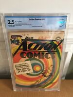 Action Comics #89 (1945) DC Comics CBCS 2.5 Superman Iconic Cover!