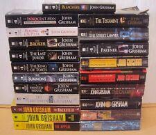 Lot 10 John Grisham PB Book - RANDOM MIX - Appeal Brethren Partner.....