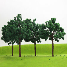 D16090 4pcs G O Scale Model Train Layout Trees Roadside Green Tree 1:25 16cm
