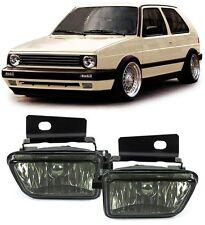 SMOKED SMOKE FOG LIGHTS FOR VW GOLF MK2 MK 2 II GL MODEL NICE GIFT