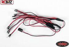 12 sistema de iluminación LED para Mojave Body Set Trail Finder 2 TF2 fácil alimentación Z-E0016