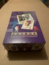 1991-92 skybox basketball box series 1 sealed box michael jordan