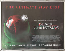 Cinema Poster: BLACK CHRISTMAS 2006 (Quad) Mary Elizabeth Winstead Katie Cassidy