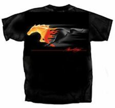 Ford Mustang Flaming Running Horse Logo T-Shirt - The COOLEST SHIRT EVER! LOOK!