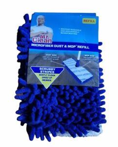 MR. CLEAN Microfiber Dust & Mop Refill Scrubby Stripes *NEW*