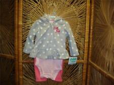 Carters 3/6 months Baby Girl Out door everyday 3 piece Bodysuit pants Jacket NWT