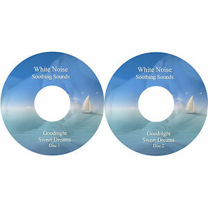 Soothing Peaceful White Noise Sounds To Aid Adults, Children & Babies Sleep CDs