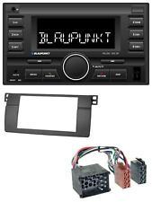 Blaupunkt MP3 USB 2DIN Bluetooth AUX Autoradio für BMW 3er E46 mit großem Navi R