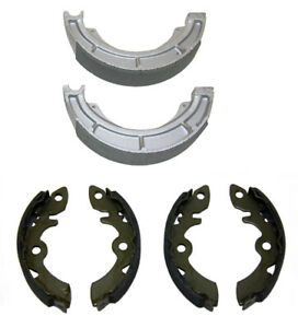 EBC Grooved Front Brake Shoes for Suzuki LT230G 1985-1986