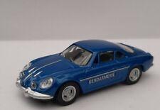 Norev Multigam Classic Renault Alpine A110 Gendarmerie Blue 1:64 3-inch