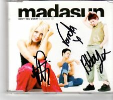 (FM301) Madasun, Don't you worry - 2000 SIGNED CD