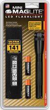 Maglite Mini SP2201H 2AA Ultra Brillante Linterna LED - (Negro) B+